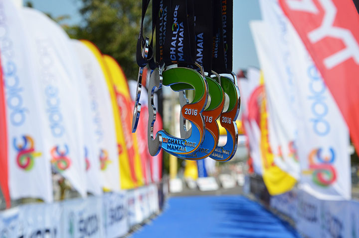TriChallenge Mamaia - medalii 2016