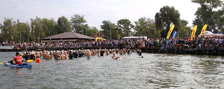 TriChallenge Mamaia - triatlon lac