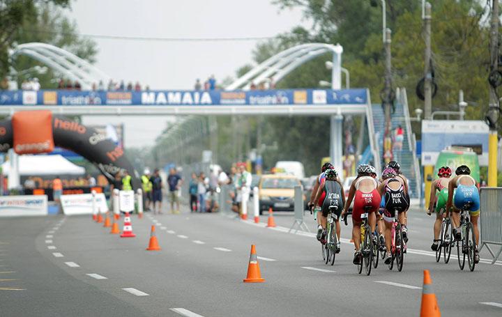 TriChallenge Mamaia pluton ciclism