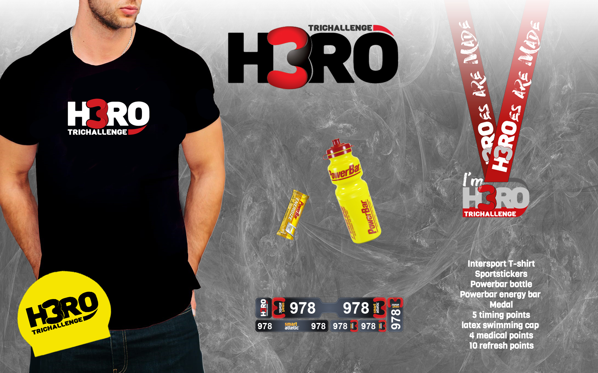 H3RO by TriChallenge 2019 - participant kit for Half