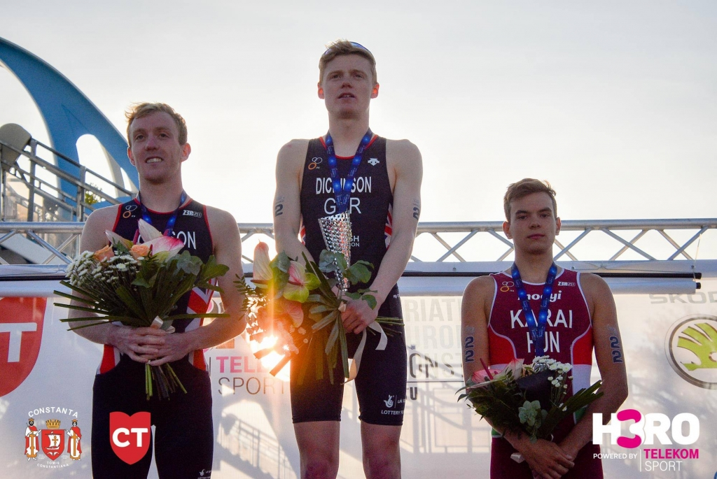 H3RO by TriChallenge 2019 - podium cupa europeană masculin