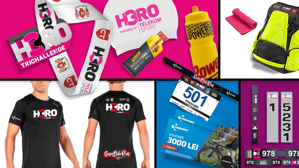 H3RO by TriChallenge 2019 - kitul de participoare pentru Half